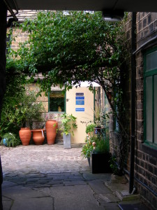 Access the Practice via the Courtyard